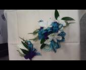 PeacockBlue with White in Brecksville, Ohio, Brecksville Florist