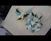 Blue with White in Brecksville, Ohio, Brecksville Florist