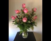 Dozen Purple Roses in Andover, Minnesota, Andover Floral