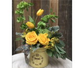 Rancho Cordova Flowers - Vintage Honey - G. Rossi & Co.