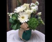 Rancho Cordova Flowers - True Turquoise - G. Rossi & Co.