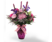 Purple Rain Bouquet in Southfield, Michigan, Thrifty Florist