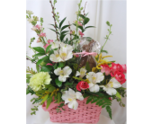 Easter Bunny Bouquet (ears included!) in Saratoga Springs NY, Dehn's Flowers & Greenhouses, Inc