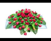 Bed of Roses Custom Spray in Mount Horeb, Wisconsin, Olson's Flowers