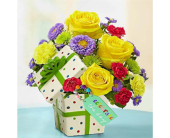 Celebrate the Day Present Bouquet in Huntington WV, Archer's Flowers, Inc.