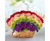 Over the Rainbow Basket in Huntington WV, Archer's Flowers, Inc.