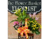 Blooming Garden basket in Ellicott City, Maryland, The Flower Basket, Ltd
