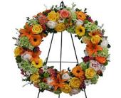 Warm Memories Wreath in Markham, Ontario, Freshland Flowers