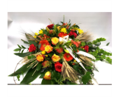 Casket Spray in Belleville ON, Live, Love and Laugh Flowers, Antiques and Gifts