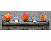 Driftwood Tea Lights in Kingston ON, Pam's Flower Garden