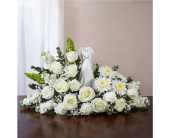 Serenity Angel Arrangement All White in Huntington WV, Archer's Flowers, Inc.