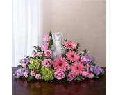 Serenity Angel Arrangement Pink and Purple in Huntington WV, Archer's Flowers, Inc.