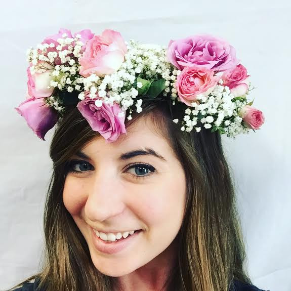 Pink and Purple Hair Crown in West Los Angeles CA, Sharon Flower Design