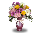 Montville Flowers - Pink Champagne - Petals Of Pine Brook