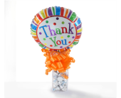 Detroit Flowers - Thank you Candy Cube - Thrifty Florist
