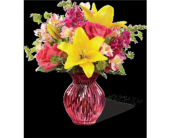 Happy Spring Bouquet in Columbia Falls MT, Glacier Wallflower & Gifts