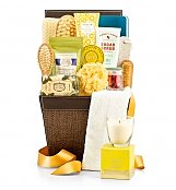 Opulent Spa Basket - by GiftTree Flowers