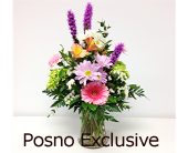 Pastel Vase in London ON, Posno Flowers