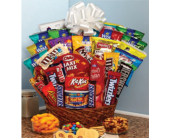 Ultimate Snack Basket in Palm Bay FL, Beautiful Bouquets & Baskets