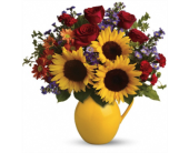 Sunny Day Pitcher of Joy in Smyrna GA, Floral Creations Florist