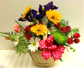 Spring Basket in West Boylston MA, Flowerland Inc.