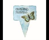 Cherished Memories Planter Stake in Eden Prairie, Minnesota, Belladonna Florist