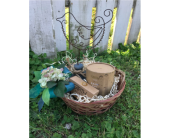 Earth Luxe Gift Basket in Metropolis IL, Creations The Florist