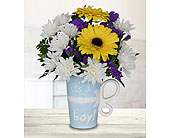 It's a Boy Mug in Dallas TX, In Bloom Flowers, Gifts and More