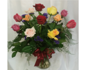 Dozen Roses- Mixed in Grand Rapids MN, Shaw Florists
