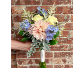Dahlia Bouquet in Kingston, New York, Flowers by Maria