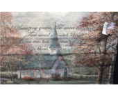 Thomas Kinkade Afghan in Paris TN, Paris Florist and Gifts