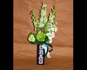 Graduation Vase