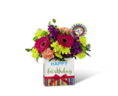 Birthday Brights Bouquet in Kingston ON, Pam's Flower Garden
