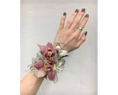 Pink Cymbidium Orchid Corsage in Somerset NJ, Flower Station