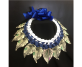 Money Lei with Ribbon in Cerritos CA, The White Lotus Florist
