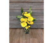 Yellow Twine Pop in Smyrna GA, Floral Creations Florist