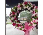 Cotton Wreath in Tuscaloosa AL, Amy's Florist