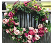 Peony Wreath in Tuscaloosa AL, Amy's Florist