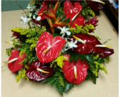MTF804 Tropical Low & Round Arrangement in Mililani Town HI, Mililani Town Florist