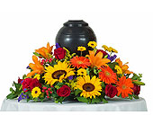 Tuscan Urn Arrangement in Dallas TX, In Bloom Flowers, Gifts and More