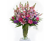 Delicate Touch Vase Arrangement in Dallas TX, In Bloom Flowers, Gifts and More