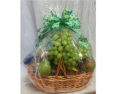Polka Dot Fruit Basket in Katy TX, Kay-Tee Florist on Mason Road