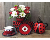 Portland Flowers - Ladybug Lovely - Portland Florist Shop