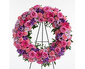 Delicate Touch Wreath in Dallas TX, In Bloom Flowers, Gifts and More