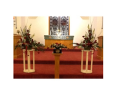 Altar Arrangement in Etna, Pennsylvania, Burke & Haas Always in Bloom