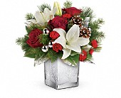 Teleflora's Frosted Forest Bouquet in Mississauga ON, Flowers By Uniquely Yours