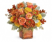 Teleflora's Grateful Golden Bouquet in St. Clair Shores MI, DeRos Delicacies