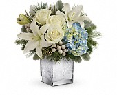 Teleflora's Silver Snow Bouquet in Mississauga ON, Flowers By Uniquely Yours