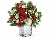 Teleflora's Woodland Winter Bouquet in Bradenton FL, Tropical Interiors Florist