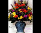 Vibrant Urn  in Alvarado, Texas, Darrell Whitsel Florist & Greenhouse
